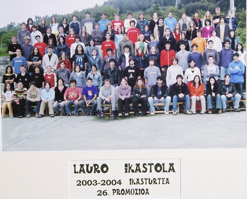 2003-2004 26 promozioa