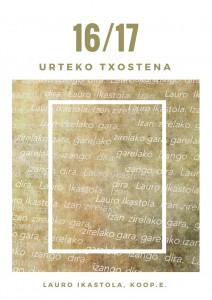 16_17 URTEKO TXOSTENA