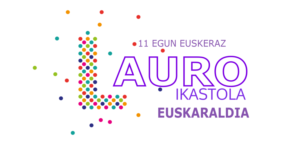 lauro euskaraldia 2018 LOGO