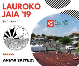 Lauroko Jaia 2019
